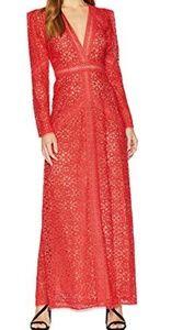 NWT BCBG Maxazaria Mosaic Lace Dress